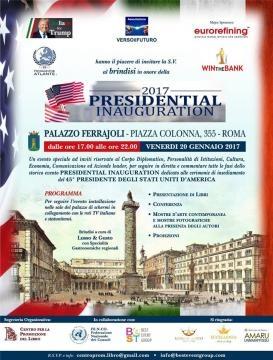 Invito all'evento Presidential Inauguration, la parte più moderata dei sostenitori di Donald Trump