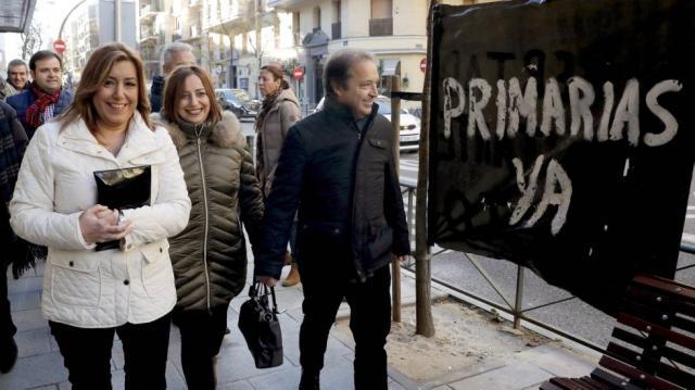 Primarias en el PSOE: Susana Díaz aguanta la presión de la ... - elpais.com