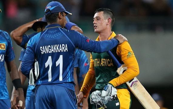 ICC Cricket World Cup 2015: Sri Lanka vs South Africa, 1st quarter ... - india.com