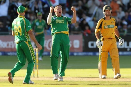 South Africa v Australia - 4th ODI - Pictures - zimbio.com