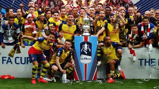 FA Cup final: FT - Arsenal 4-0 Aston Villa - Live - BBC Sport - bbc.co.uk