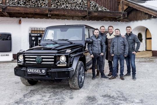 Mercedes-Benz G 350 agora tem dois motores elétricos, que juntos produzem 489 cv