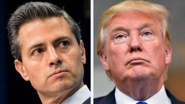 Peña Nieto endurece discurso y rechaza amenazas de Trump a ... - elsalvador.com