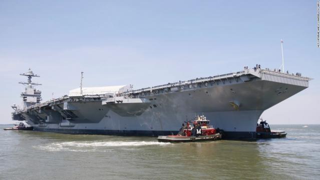 Aircraft carrier that survived atomic blasts surveyed - CNN.com - cnn.com