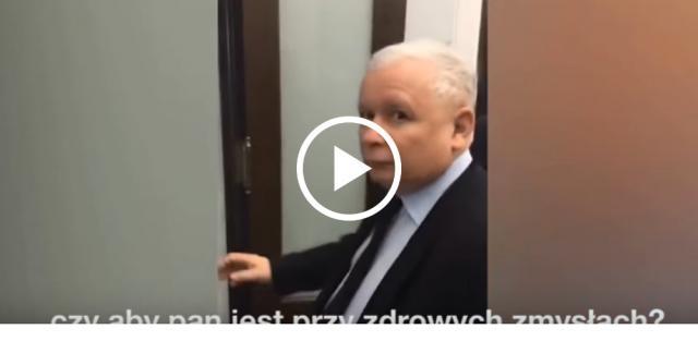 Jarosław Kaczyński przywrócił do porządku posła Nitrasa.