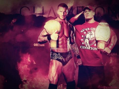 John Cena and Randy Orton favourites by LittleRabbit7981 on DeviantArt - deviantart.com