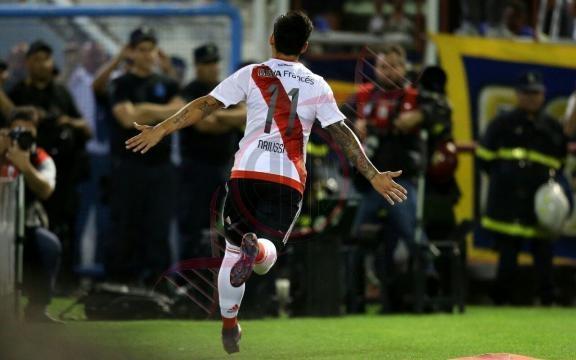Sebastián Driussi sigue de racha. El goleador de River en esta temporada volvió a marcarle a Boca