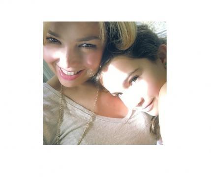 Thalia avec sa fille Sabrina. Credit @thalia Instagram