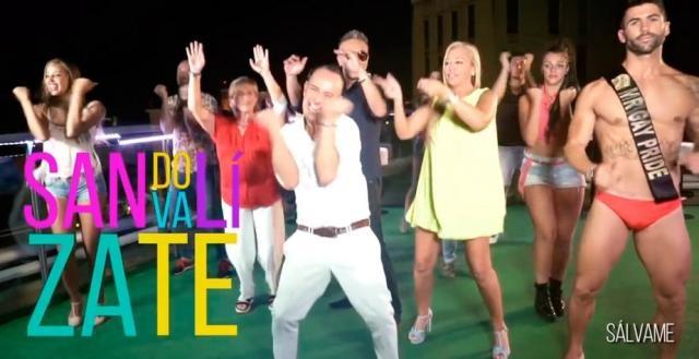 Belen y Chelo en el videoclip de Victo Sandoval junto a Kiko Hernandez