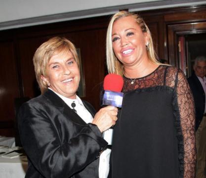 Chelo entrevistando a Belen Esteban