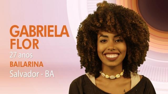 Gabriela Flor - Participante 'BBB17' - net.br