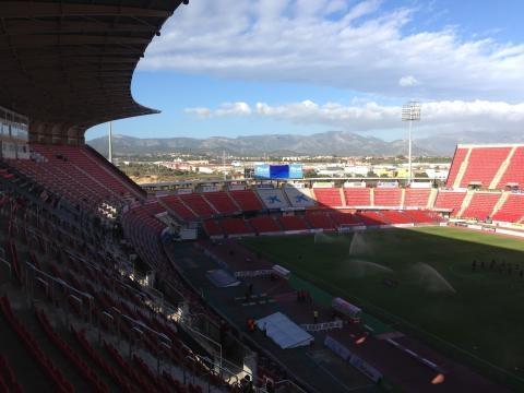 Das Stadion von RCD Mallorca. Foto: Grischa Baumeister