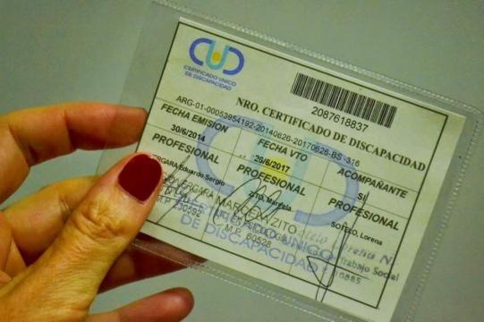 El Certificado Único de Discapacidad ofrece gratuidad en servicios de baños