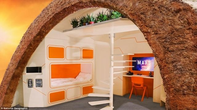 First ever Martian show home reveals what life would be like on ... - dailymail.co.uk