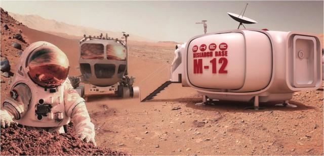 Future Mars Explorers Could Live in Habitats That Build Themselves - space.com