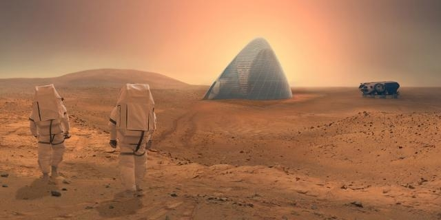 Future Mars Residents Might Live in Ice Houses   Inverse - inverse.com