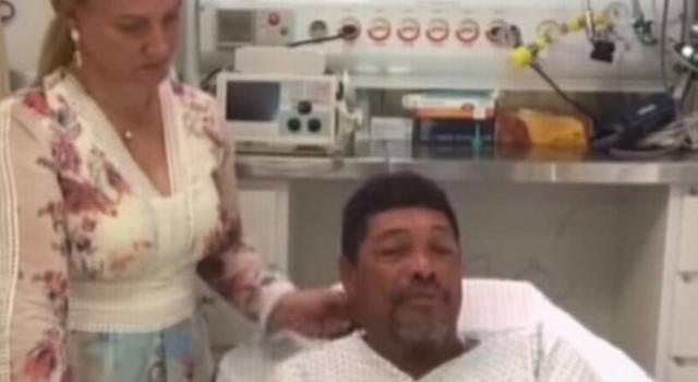 Após ataque, Valdemiro Santiago faz video para tranquilizar fiéis. (Foto: Reprodução)
