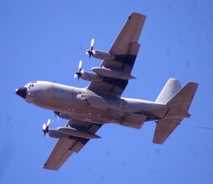 El omnipresente C-130 Hércules su uso sigue siendo completo.