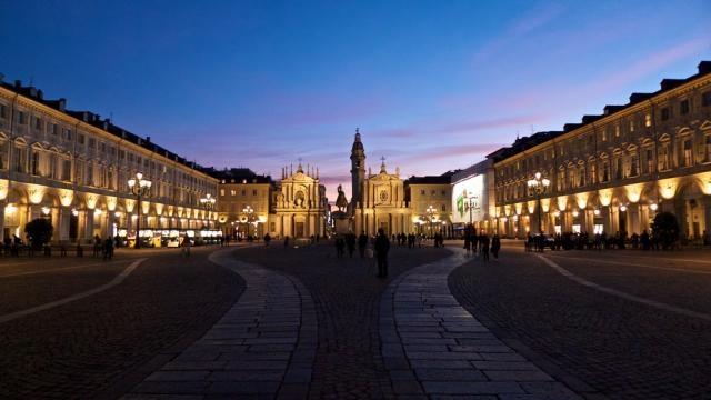 Piazza di San Carlo. A. Maffeis