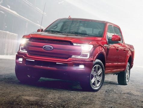 Mudanças no design deixam a Ford F-150 2018 com aparência de maior e linhas mais limpas