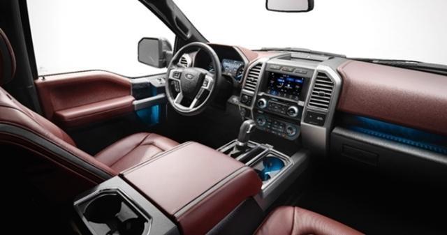 Sistema multimídia foi atualizado e Ford F-150 está mais equipada