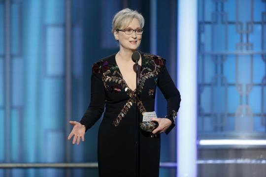 Golden Globes 2017: Meryl Streep takes on Donald Trump in speech ... - seattletimes.com
