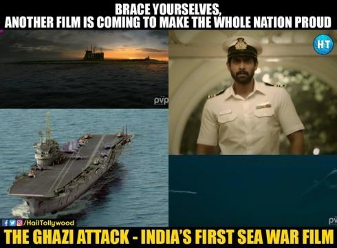 Rana Daggubati as Indian Naval Officer image source: Facebook hailtollywood