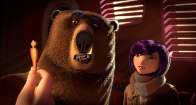 Animal Cracker - ursul si femeia