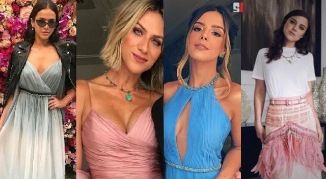 Bruna Marquezine foi eleita a que estava com o pior look no casamento de Marina Ruy Barbosa