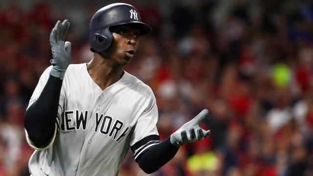 Didi Gregorius se ha convertido en el legítimo cleanup de los NYY. MLB.com.