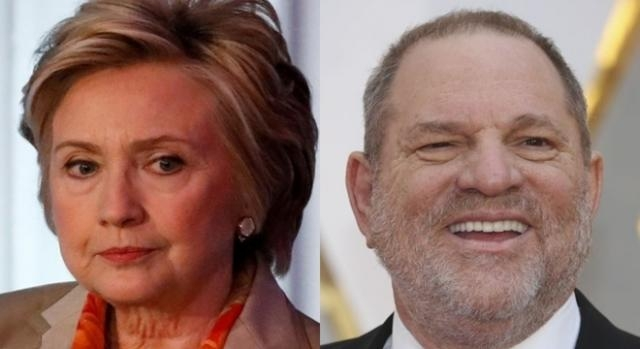 Hillary Clinton, Harry Weinstein, via Twitter