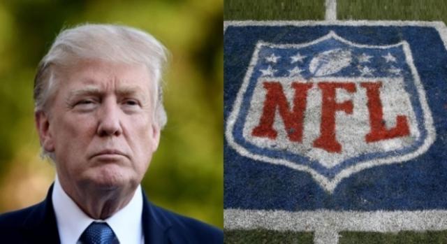 Donald Trump, NFL, via Twitter