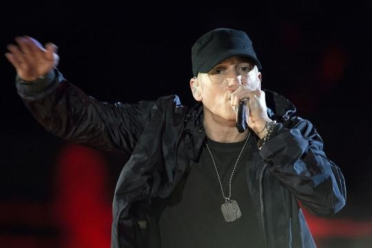 Eminem slams Donald Trump in freestyle rap video. (Image Credit: DoD News Features/Wikimedia)