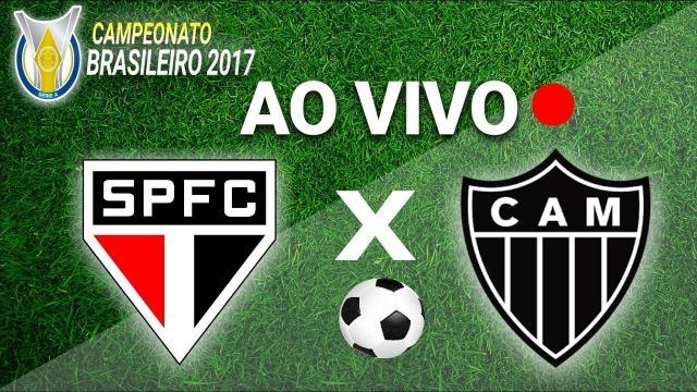 Jogo Atlético Mineiro e São Paulo no estádio Independência em Belo-Horizonte (M.G)