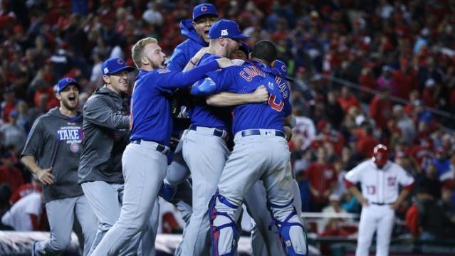 Los Cubs van a su tercera NLCS consecutiva. Chicago Tribune.com.
