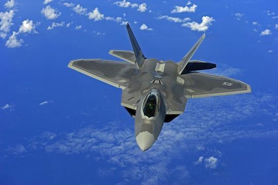U.S. Air Force F-22 Raptor near Guam (Image credit - Jacob N. Bailey– Wikimedia Commons)