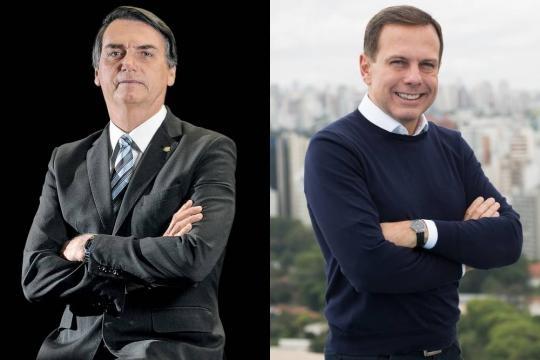 Doria não descarta a possibilidade de aliança com Jair Bolsonaro (foto:VEJA.com)