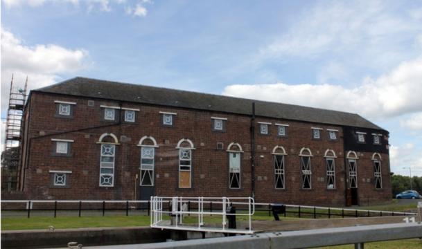 Rosebank Distillery Bonded Warehouse - [ Image - Creative Commons | By Joe Turner | Geograph Org
