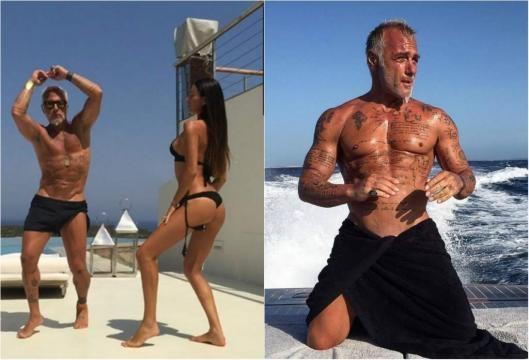 Gianluca Vacchi e Giorgia Gabriele– The Uppers - theuppers.com