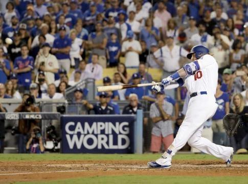 Turner sigue cargando con el peso de la ofensiva de los Dodgers junto a Bellinger. Houston Chronicle.com.