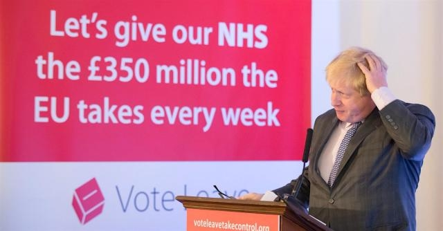 Camp Brexit have officially abandoned that £350 million NHS pledge - konbini.com