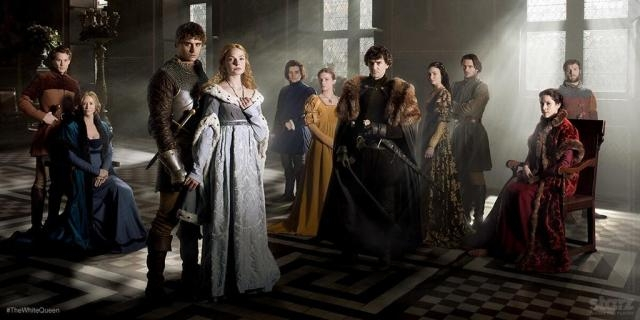 Découvrez The White Queen en attendant la saison 8 de Game of Thrones Starz BBC