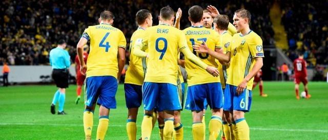 La Svezia, altra nazionale che i tifosi italiani si augurano di non incrociare nei play off