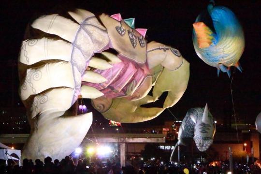 Las Marionetas inflables gigantes