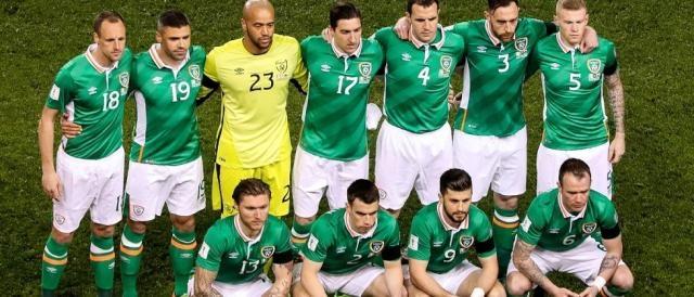 L'Irlanda, certamente una delle avversarie più competitive per l'Italia in questi play off Mondiali