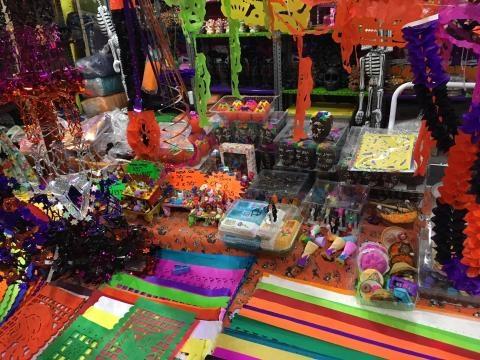 Adornos coloridos - Foto del autor