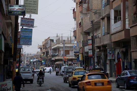 Raqqah, Syria, town center north of clock tower (Image credit: Bertramz/Wikimedia Commons)