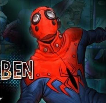 Tio Ben como Homem-Aranha. Terra-3145. (Crédito: Marvel.com)