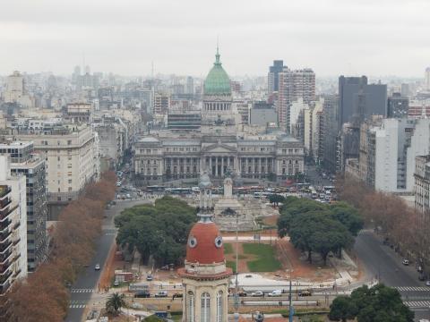 Buenos Aires vista do Edifício Barolo