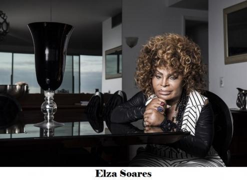Elza Soares já foi vítima de violência doméstica e ouviu comentário impróprio do apresentador